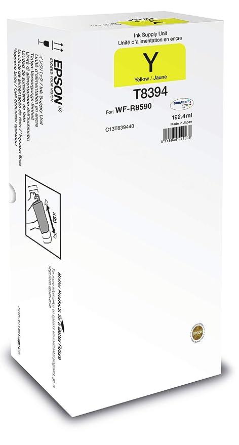 Epson Unidad de suministro de tinta T8394 amarillo XL - Cartucho ...