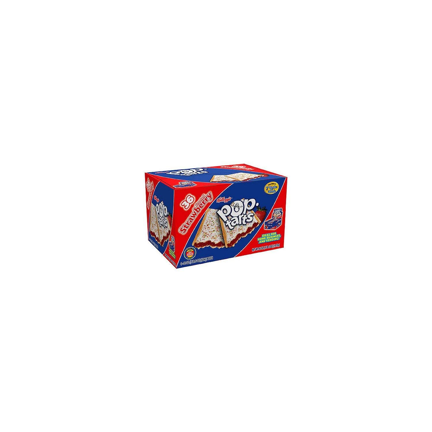 Kellogg's Pop Tarts Frosted Strawberry (36 ct.) SCS