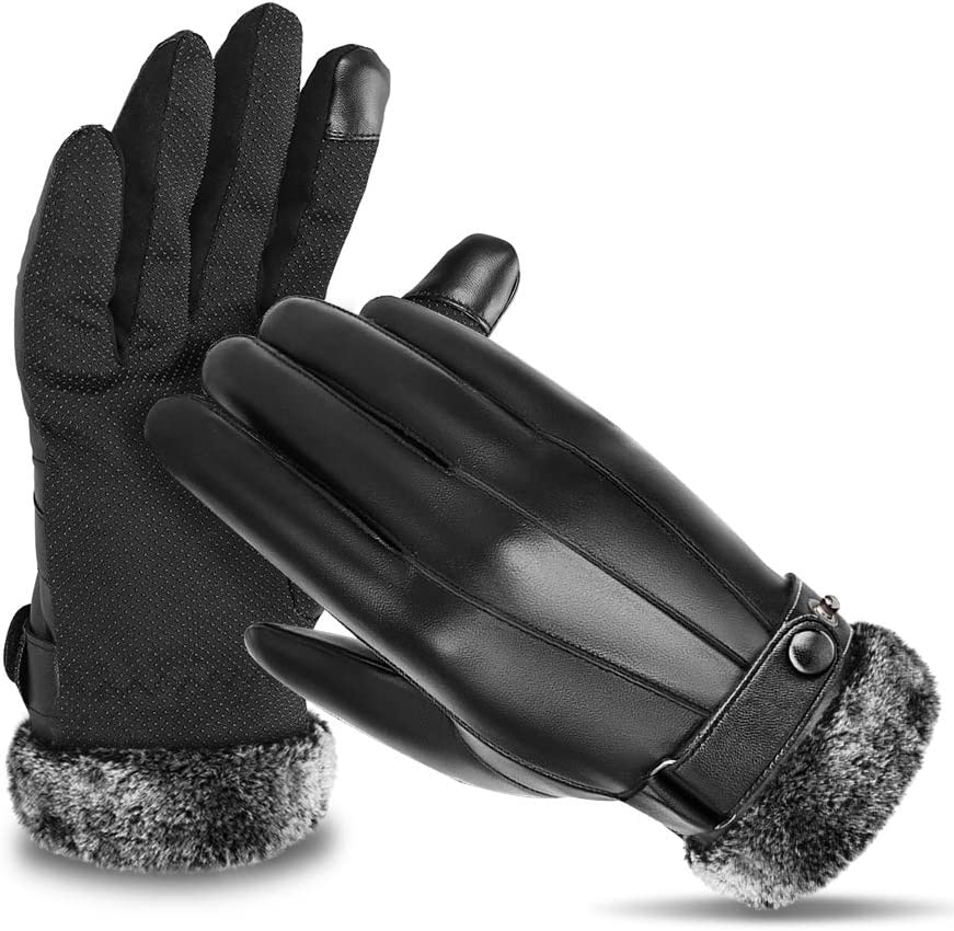 MZTDYTL Winter Thermal Gloves Touchscreen Texting Waterproof Warm Windproof Gloves for Cycling, Running, Riding, Hiking, Outdoor Sports for Men and Women