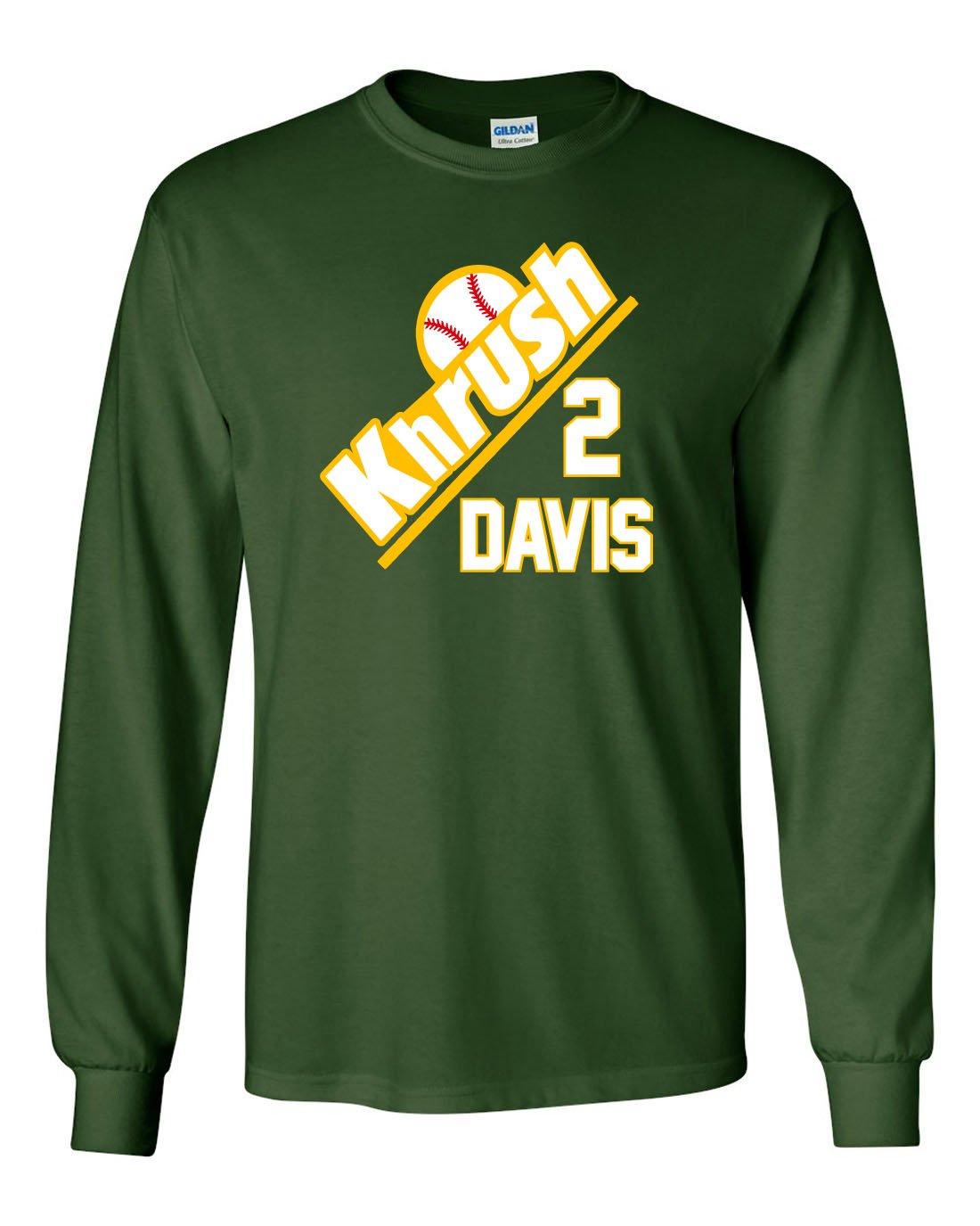 2 khris davis jersey amazon rh ohlson temp com