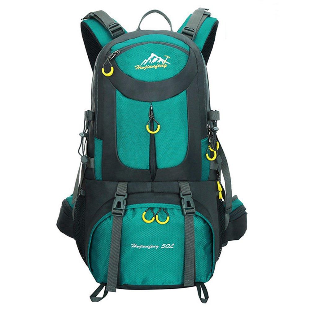 DAN Hiking Backpack Nylon Waterproof Large Capacity Daypack for Outdoor Sports Travel Fishing Trip Cycling Skiing Climbing Camping Mountaineering danjie