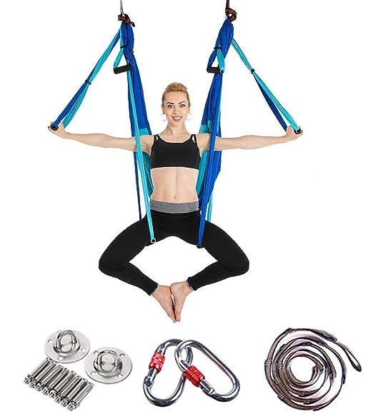 Hamaca de Yoga Anti Gravedad Ultra Fuerte Cómodo Ejercicios ...