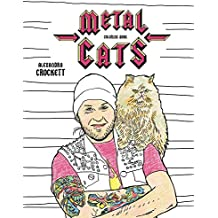 Metal Cats Coloring Book