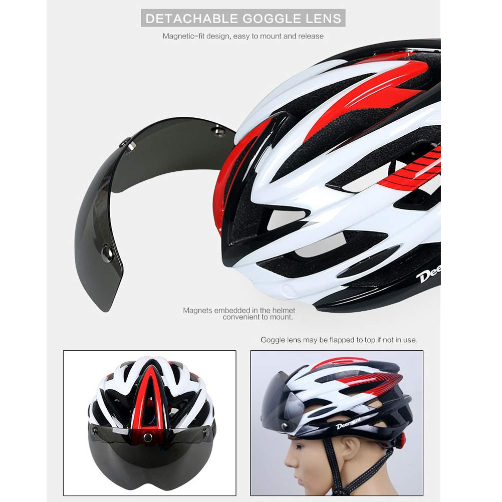 TOMOUNT Cycle Cycling Mountain Bicycle Bike BMX Adjustable Outdoor Safety Helmet