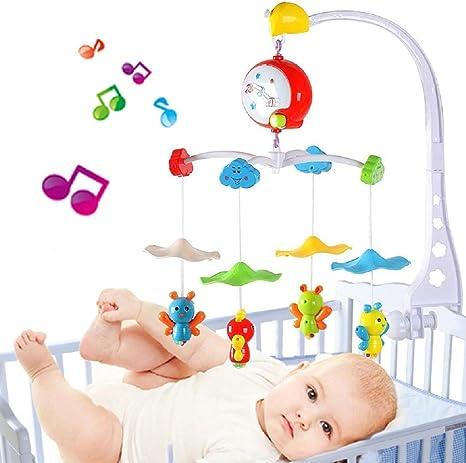 Móvil musical para bebé con cuatro abejitas, soporte móvil para ...