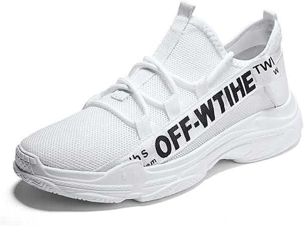 YSZDM Chaussures de Course sur Route, Baskets pour Hommes