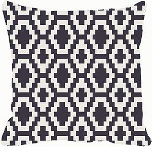 Geometric Throw Pillows Covers Accent Home Sofa Cushion Cover Pillowcase Gift Decorative 18x18 inches