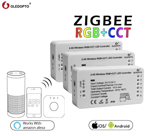 size 40 e2085 e7f9f GLEDOPTO Zigbee Adapter for RGB+CCT LED Light Strips - Works ...