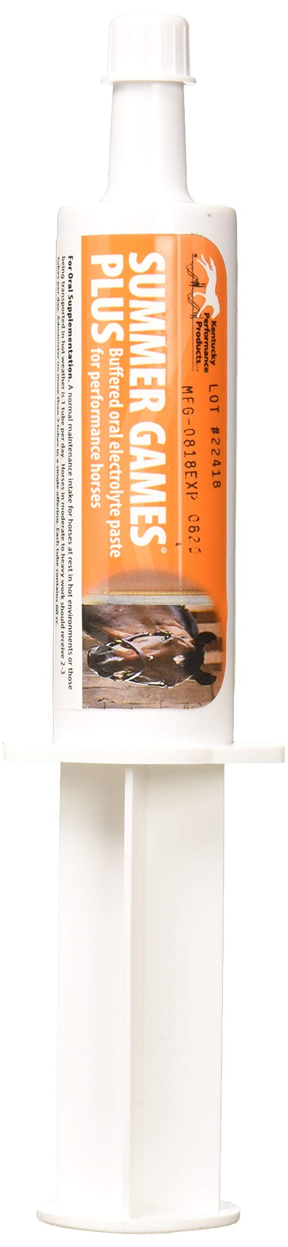 Kentucky Performance Prod (04409 Electrolyte Paste for Horses (3 Pack) 044093 60cc Summer Games Plus Elect by Kentucky Performance Prod