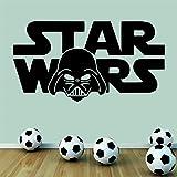 Wondrous Wall Art Sticker mural pour chambre de garçon Motif Star Wars Dark Vador Format moyen