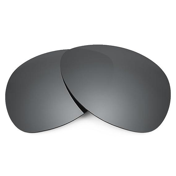 a8bb751aee Revant Polarized Replacement Lenses for Oakley Plaintiff Black Chrome  MirrorShield®  Amazon.co.uk  Clothing
