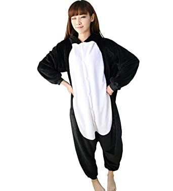 Tricandide Adult Costume Cosplay Onesie Homewear Lounge Wear Black Cat S 94ee58039