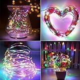 Solar String Lights, AYY 4 Colors 100 LED 33ft