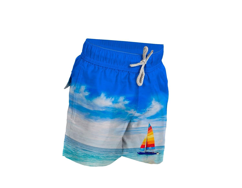 Blueport by Le Club Boys Swim Trunk Velero Blues