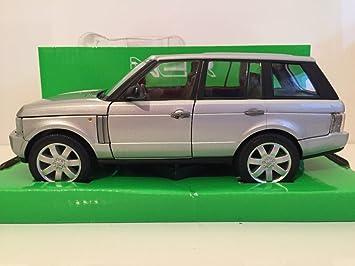 2003 Range Gris Land Rover Welly Voiture Miniature R4L5Aj