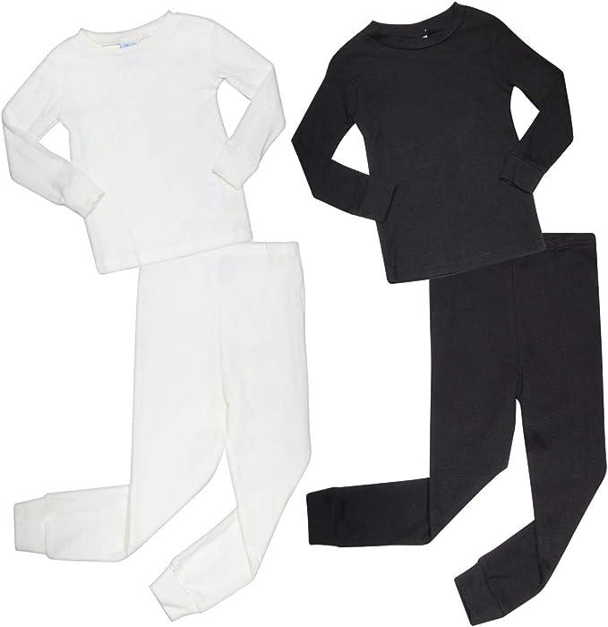 2 Full Sets Arctic Hero Infant /& Toddler Boys 4-Piece Thermal Long Underwear Set