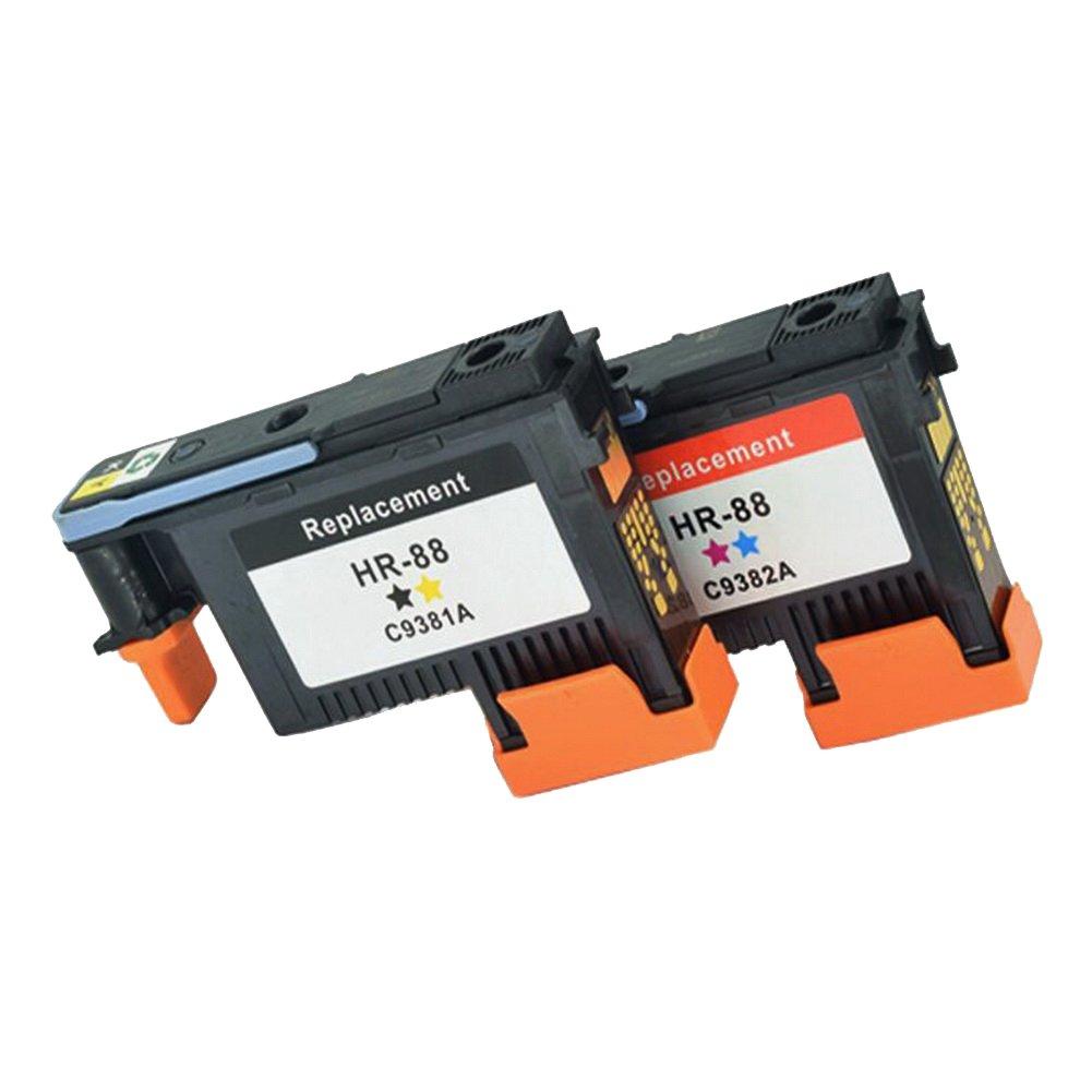 Komada 1set di ricambio compatibile per HP88(1BK/Y + 1C/m) testina di stampa compatibile con HP K5400K550K8600L550L580L650L7000L7400L7480L7550L7555L7580stampante. Komada Trade HP88 printhead