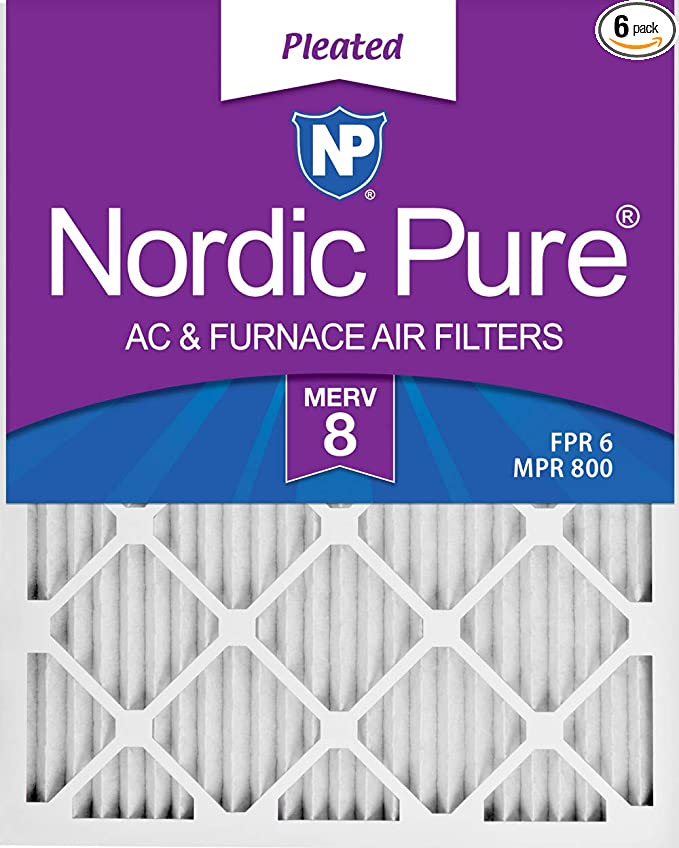 16x24x1 Pleated HVAC AC Furnace Air Filter MERV 11