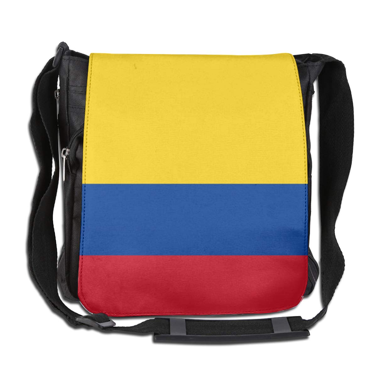 Flag of Colombia Fashion Diagonal Single Shoulder Workout Bag