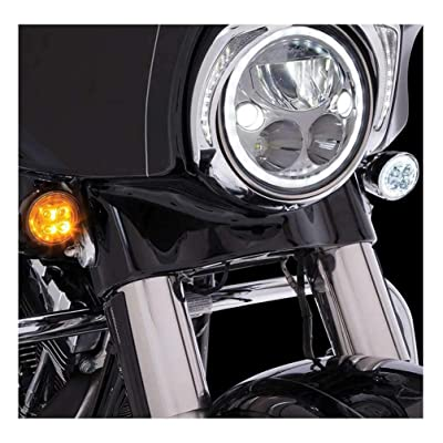 Fang Front LED Signal Light Inserts (Chrome): Ciro: Automotive