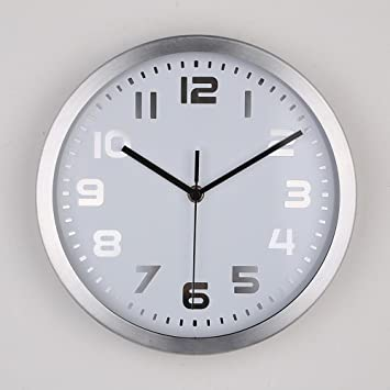Weiwei Reloj Pared Mesa de salón Metal Hierro Pared Reloj ...