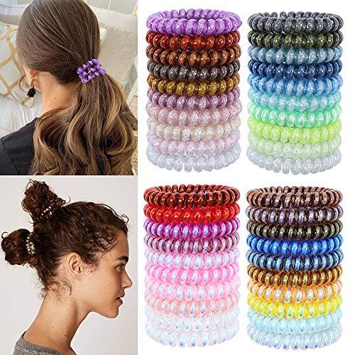 no crease hair ties sparkly - 4