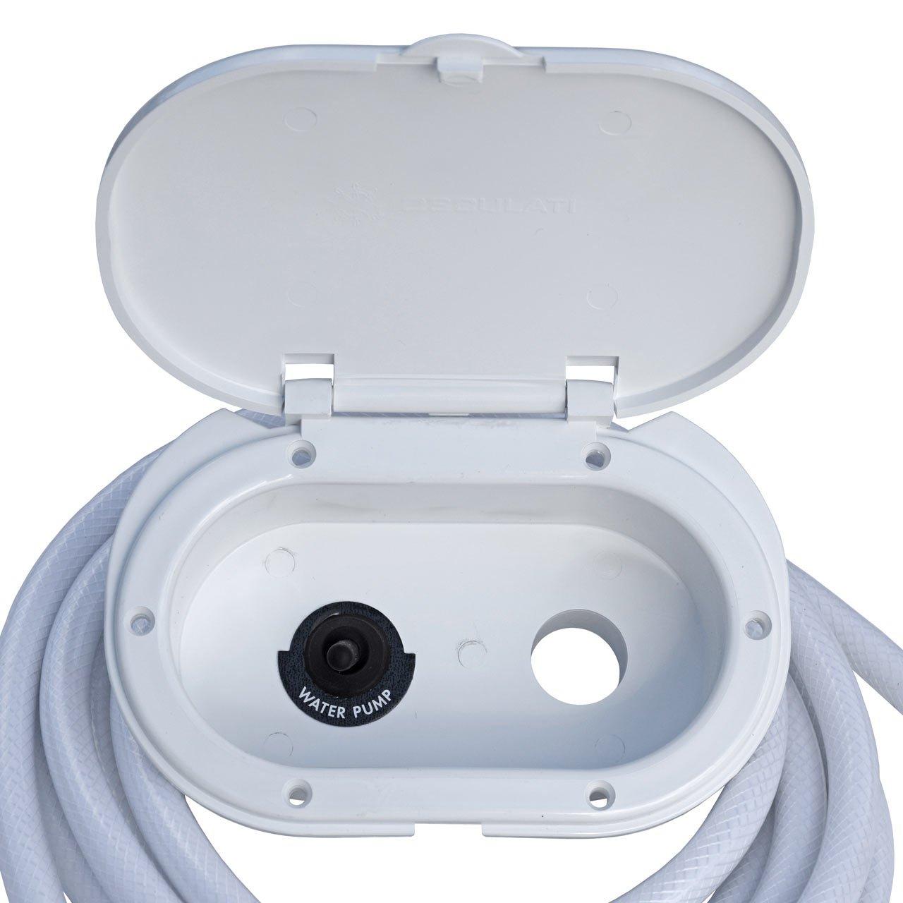 Osculati Shower Box With 2.5 m Hose 15.241.01