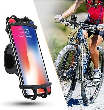 ZOESON Soporte Universal para Bicicleta con Correa de Silicona ...