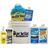 StarBrite 083701N Boat Care In A Bucket Starter Kit Wash Cleaner Polish Included