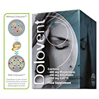Linpharma Dolovent Magnesium, B2, CoQ10 Dietary Supplement for Brain Health - 1...