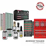 Steellabels.com - Combo Deal - Adhesive Toolbox Labels plus our best