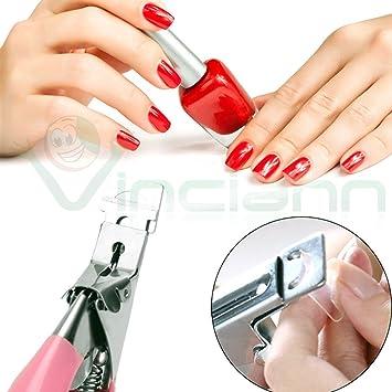 Alicates tronchesina Cutter Talla Tip Tips Reconstrucción Uñas Postizas Nail Art Gel