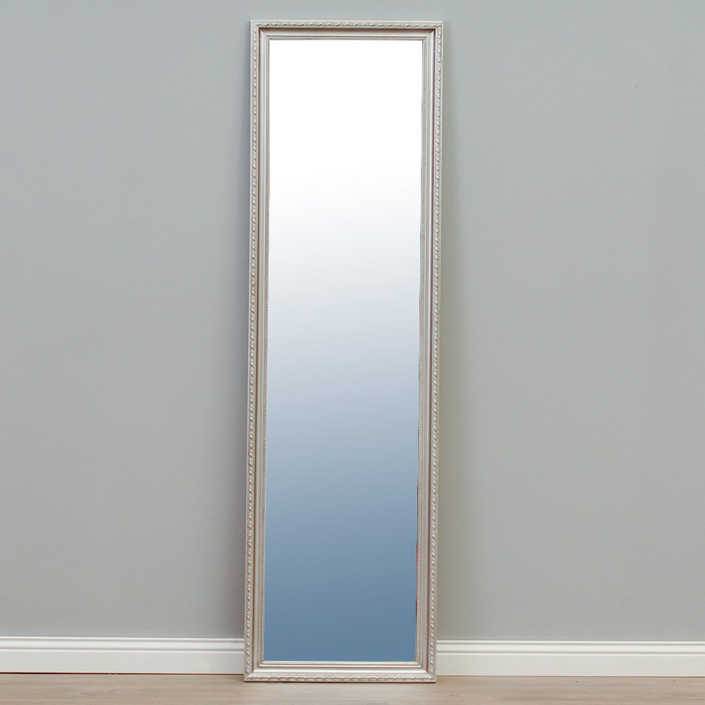 wandspiegel silber modern spiegel fiora barock. Black Bedroom Furniture Sets. Home Design Ideas