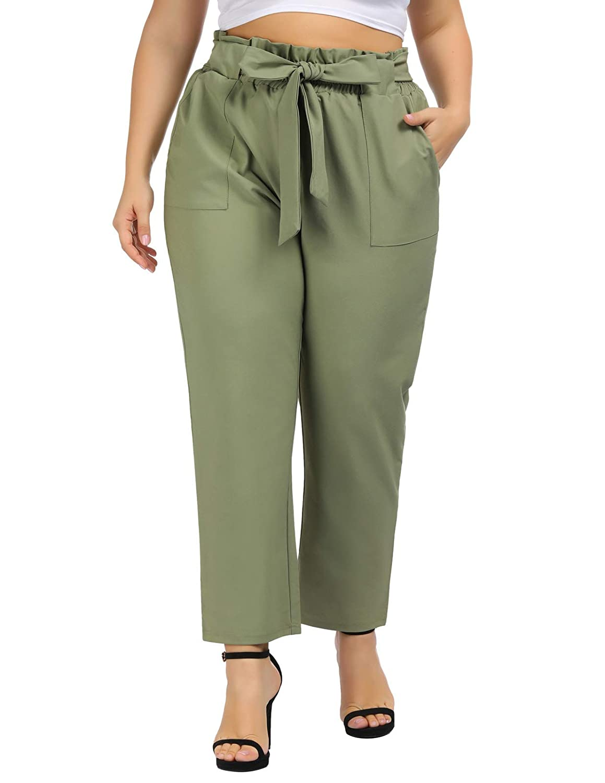 Plus Size Dress Pants Elastic Waist – DACC