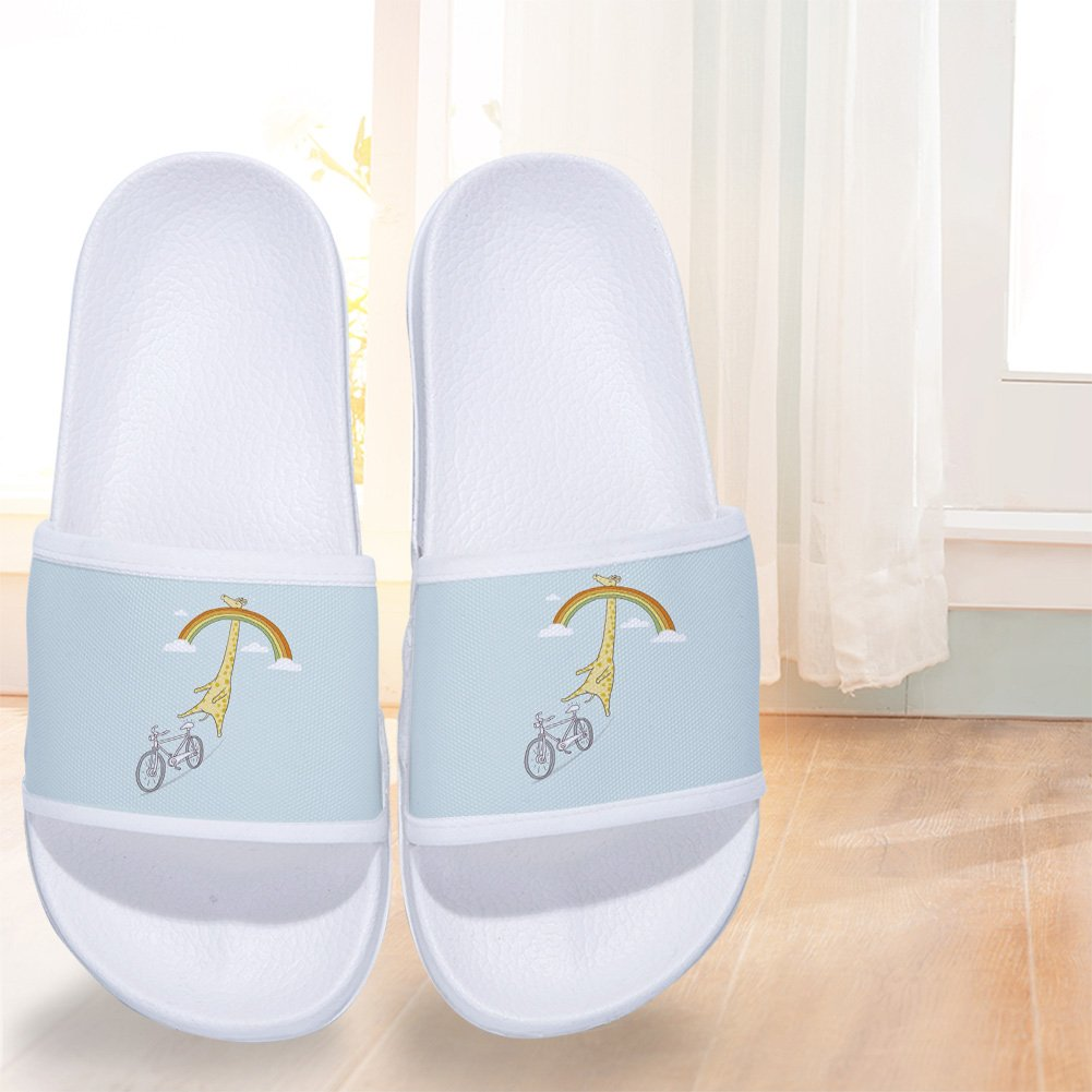 CoolBao Slides Sandals for Boys Girls Anti-Slip Swim Shower Pool Slippers (Little Kid/Big Kid) by CoolBao (Image #4)