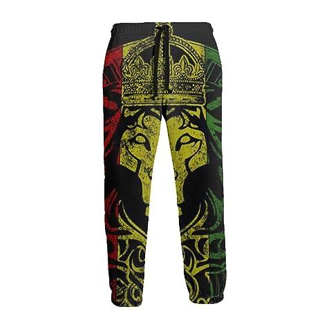 Bandera Africana El León de Judá Rasta Unisex 3D Pantalones ...