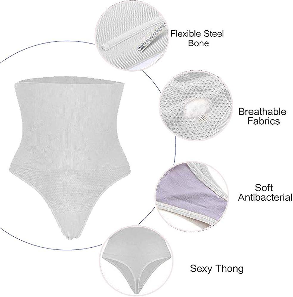 DODOING Damen Miederslip Hohe Taille Butt Lifter Shaper Figurenformend Shapewear Schlichte Taillenformer mit Bauch-Weg-Effekt