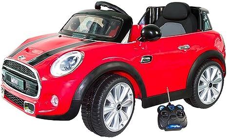 itsImagical - Mini, Coche eléctrico de Color Rojo para niños ...