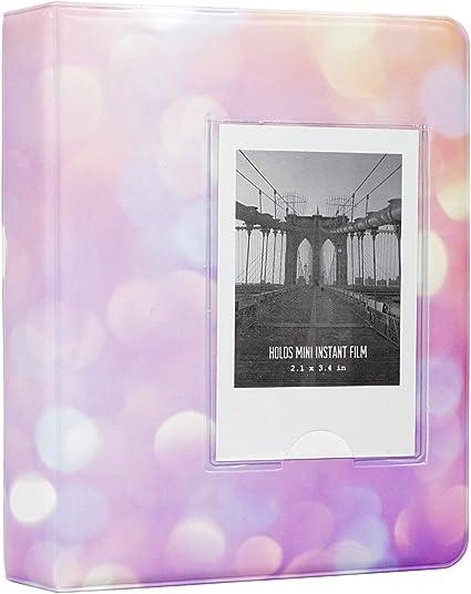 Yosuny Mini Album Schutzhülle 64 Taschen Für Fujifilm Instax Mini Filme Für Mini 8 Mini 9 Mini 11 70 90 25 50s 7s Liplay Kodak Hp Sprocke Snap Sternenhimmel 4 Küche Haushalt