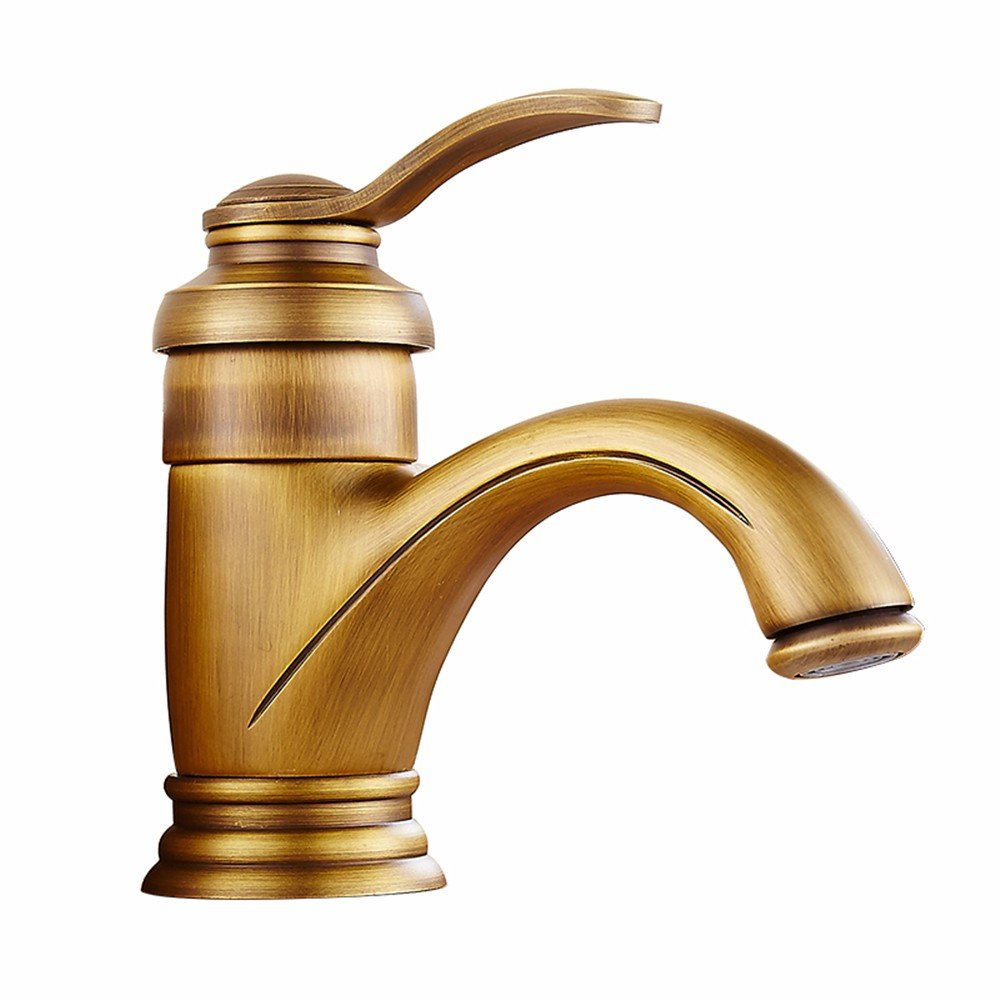 Gyps Faucet Basin Mixer Tap Waterfall Faucet Antique Bathroom The Nordic modern minimalist retro stainless steel 古 color falls solid brass bathroom sink faucet kitchen toilet hotel restaurant