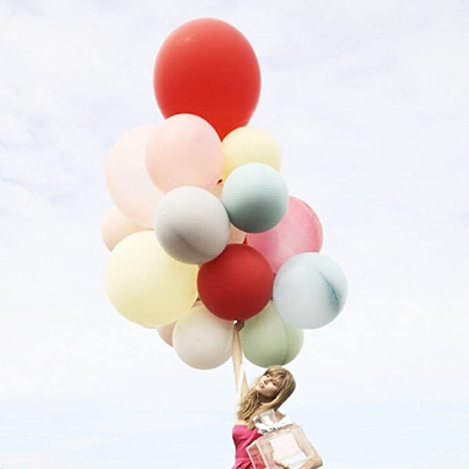 Anna Toys 48 Inch Huge Latex Air Balloon Assorted Color (High Quality) Pkg/10 by LATEX BALLOON: Amazon.es: Juguetes y juegos