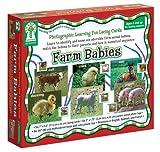 Key Education Publishing Farm Babies Lacing Cards