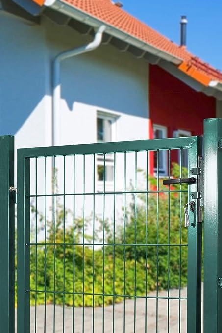 Arvotec Gartentor f/ür Stabmattenz/äune BxH:1200x1000mm inkl Top Qualit/ät zum Bestpreis! Pfosten anthrazit mit Befestigungsmaterial /& Ersatzschl/üsseln