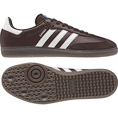 491bacdf6 adidas Men's Samba Og Gymnastic Shoes, Mystery Core Black/Night Brown, UK  13/Size EU 48 2/3: Amazon.co.uk: Sports & Outdoors