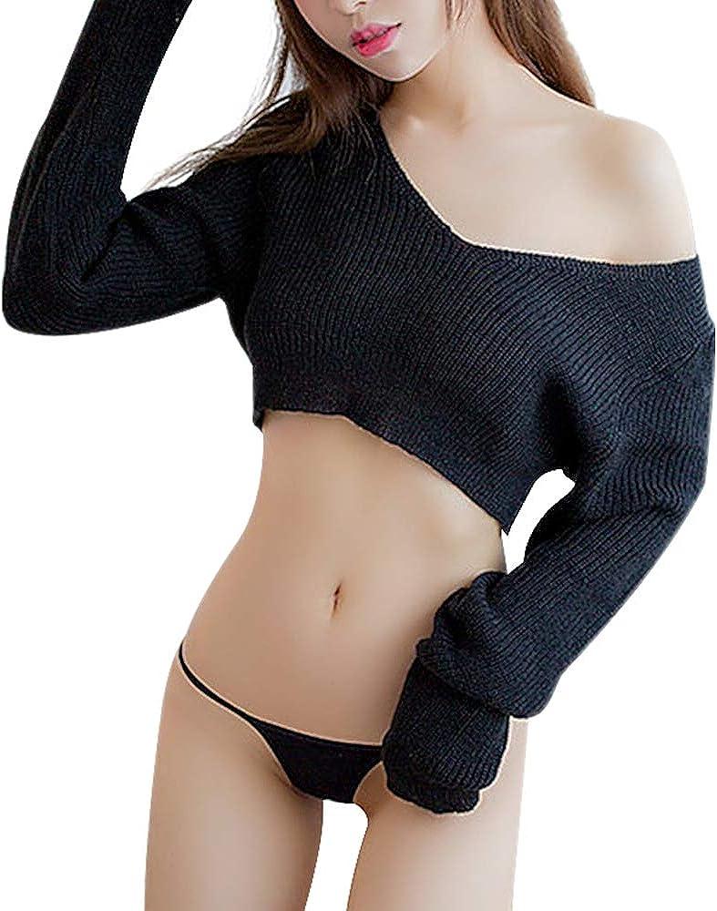 TOMORI Women's Virgin Killer Sweater