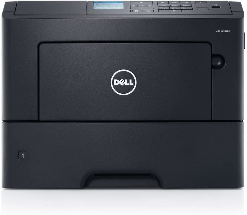 Dell B3460DN Mono 50ppm 1200x1200 dpi Laser Printer, with Dell 1-Years Next Business Day Warranty [Dell PN: B3460dn]