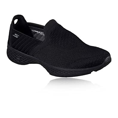 Skechers Go Walk Sport Supreme Damen Sommerschuhe Slip On Slipper Ballerinas, Schuhgröße:EUR 35.5