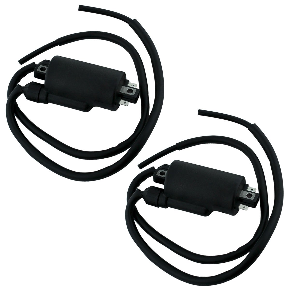 Compatible with Honda CB650 GL1100 GL1200 Ignition Coils Caps and Wire
