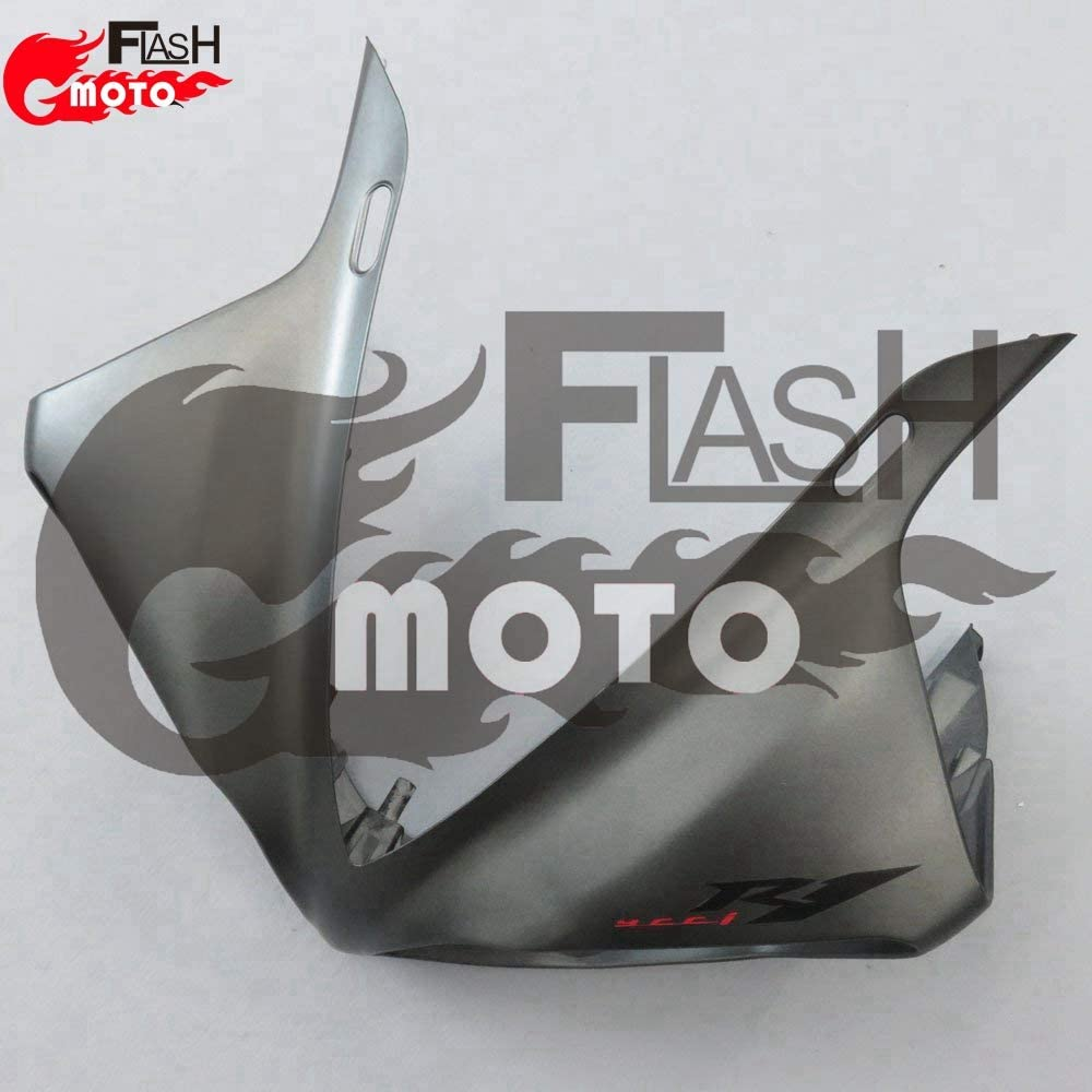 FlashMoto Fairings for Yamaha YZF-1000 R1 2009 2010 2011 Painted Motorcycle Injection ABS Plastic Bodywork Fairing Kit Set Gray