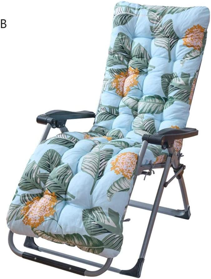 Wood.L Sun Lounger Cushions Portable Garden Patio Thick Padded Bed Recliner Relaxer Chair Seat Cover For Travel//Holiday//Indoor//Outdoor Garden Furniture Cushions Only Cushions